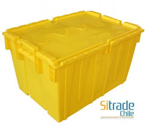 Caja Logistica 52 Litros Amarilla